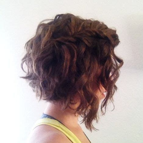 angled bob medium curly wavy angled lob www pixshark com images galleries with