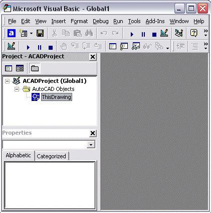 tutorial autocad vba tutorial acad vba 1 l ambiente vb