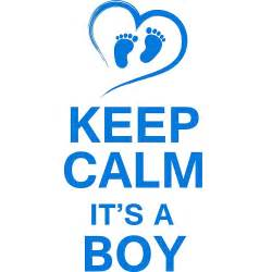 Quotes Wall Sticker quot keep calm it s a boy quot by pix graphic redbubble