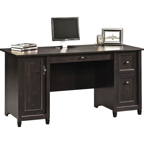 sauder edge water computer armoire sauder edge water computer desk desks more shop the