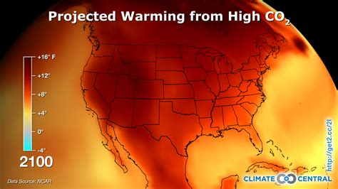 us weather heat map us temperature projections climate central