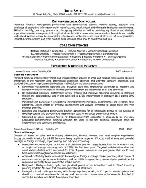 business coach resume template premium resume sles