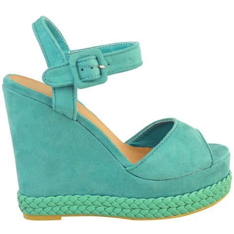 27 Coolest Platform Shoes For Summer 2009 by Womens Wedges High Heel Summer Sandals Ankle