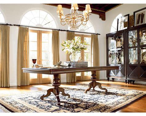 thomasville dining room table castillian pedestal table dining room furniture