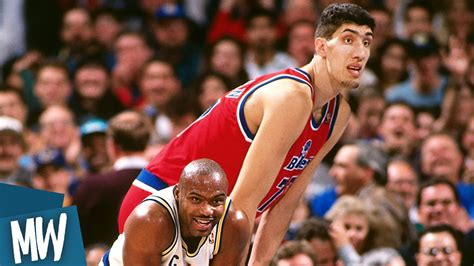 Ta Est Mba Players All Time by Top 10 Tallest Nba Players Doovi
