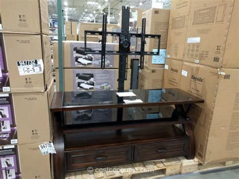With Stand Costco bayside furnishings 3 in 1 tv stand