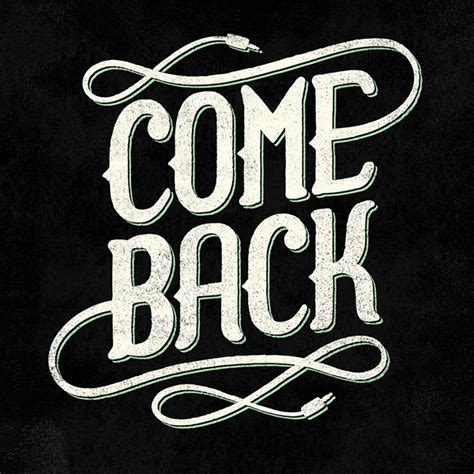 Come Back by Comeback Logo On Behance