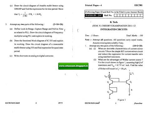 integrated circuit question paper of uptu integrated circuits question paper uptu 28 images logic circuits paper uptu docsity uptu