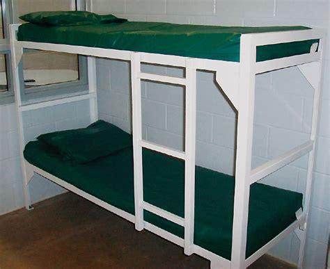 prison bunk bed floor mount bunk bed iowa prison industries
