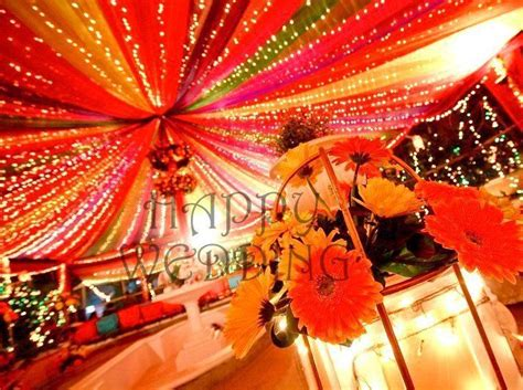 home decor ideas for indian wedding colorful canopy for mehndi indian decor for home
