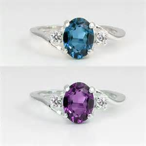 alexandrite color change color changing alexandrite sterling silver ring with