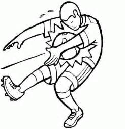 football coloring sheets football coloring pages coloringpages1001