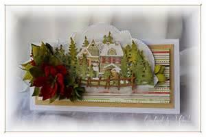 handmade by mihaela winter card