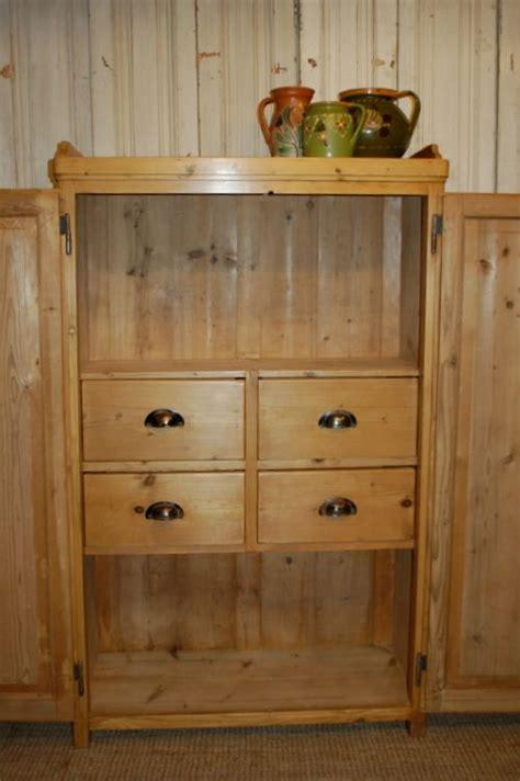 antique kitchen storage antique pine storage cupboard larder or pantry cupboard