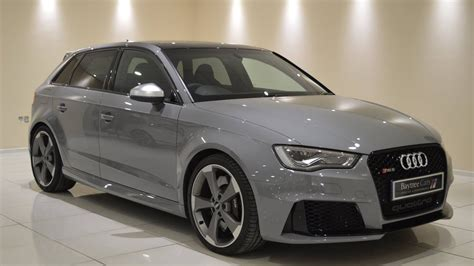 nardo grey rs3 nardo grey audi rs3 2 5 sportback s tronic quattro at