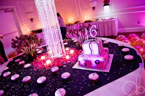 theme names for sweet 16 sweet 16 cake table for a glamour or red carpet theme
