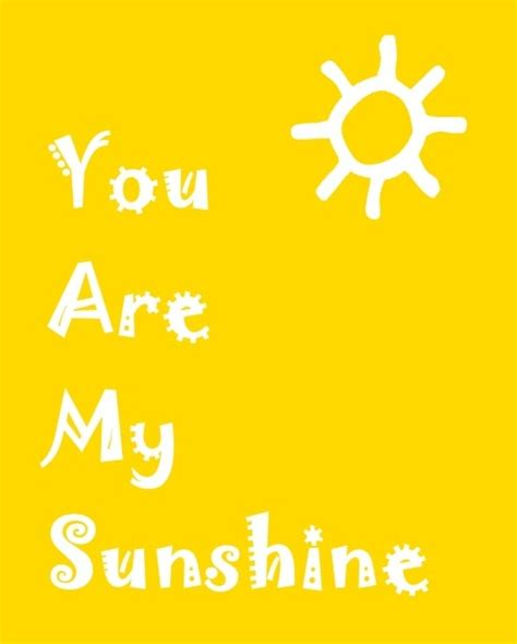 full version you are my sunshine ready set create you are my sunshine printable