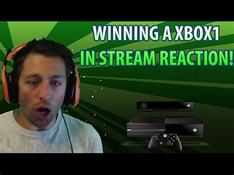 How To Win Twitch Giveaways - xbox1 ps4 giveaway reaction to the win twitch stream giveaways youtube