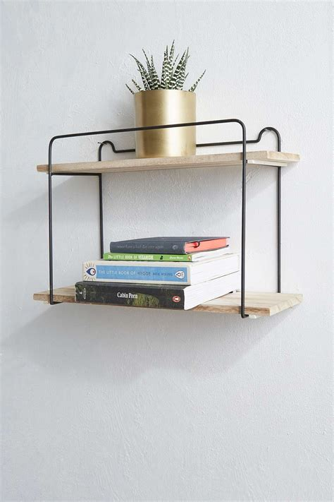 double wire shelf perfect  displaying books plants