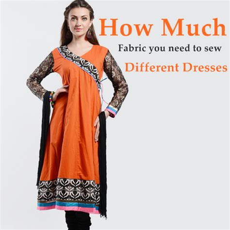 dress pattern how much fabric how much fabric you need to make different dresses