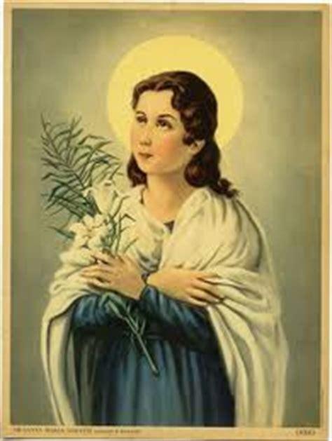 imagenes de la virgen maria goretti 6 de julio maria goretti virgen efem 233 rides en im 225 genes