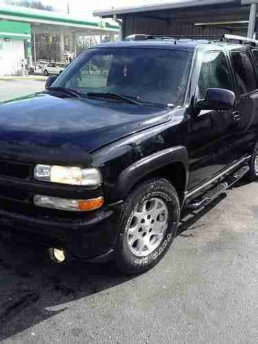 how to fix cars 2002 chevrolet tahoe electronic find used 2002 chevy tahoe z71 no reserve in raleigh north carolina united states