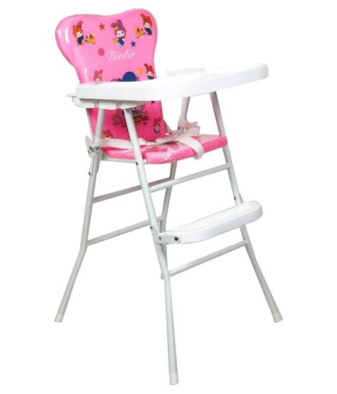 Pink High Chairs by Ehomekart Pink High Chair With Tray Buy Ehomekart Pink