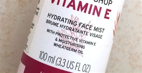 Mist Vitamin E the shop vitamin e mist review