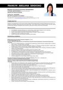 resume format for bba graduates 210 best images about sle resumes on