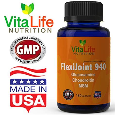 best joint supplement glucosamine chondroitin msm joint support supplement