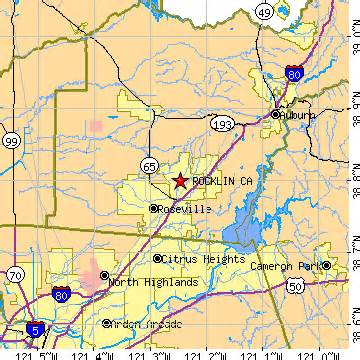 where is rocklin ca on a map of california rocklin california ca population data races housing