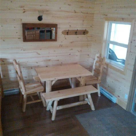 Echo Falls Cabin by Roofed Accommodation At Ontario Parks