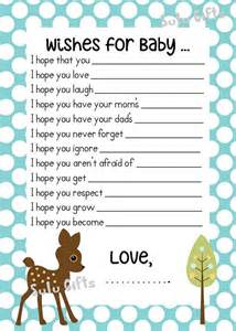 sale baby boy baby shower wishes for baby advice cards