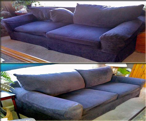 upholstery couch repair takeapartsofa com take apart sofa services before and