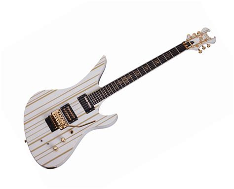 Gitar Synyster Gates Custom Pabrikan synyster gates custom s 6 string electric guitar white and