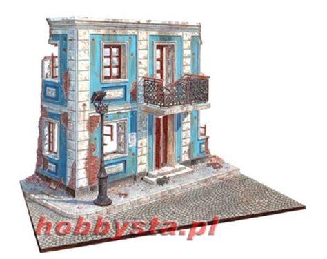 Rak Dinding Diorama Rc Skala 1 10 1 10 diorama europejska ulica miniart 36011 1 35