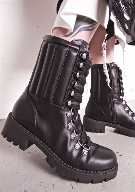 lust for shoes lust for lace up combat boots dolls kill