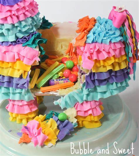 and sweet pinata smash cake diy tutorial