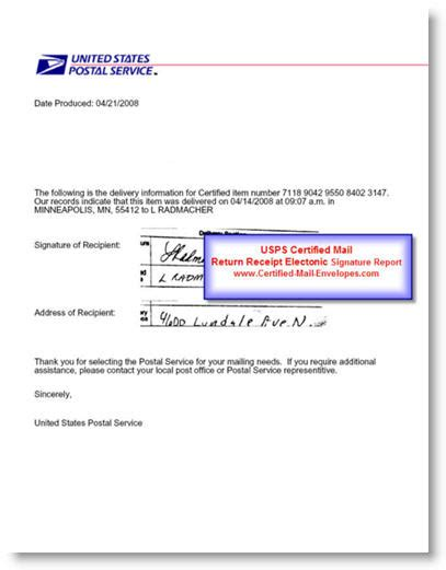 Business Letter Format Via Class Mail business letter format via electronic mail sle