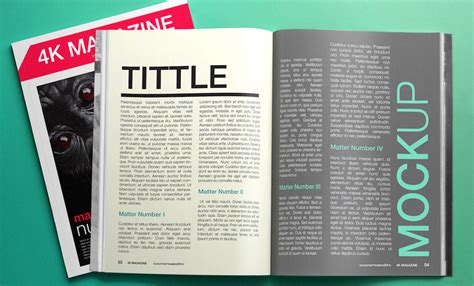 Magazine Ad Template Free by Top 33 Magazine Psd Mockup Templates In 2018 Colorlib