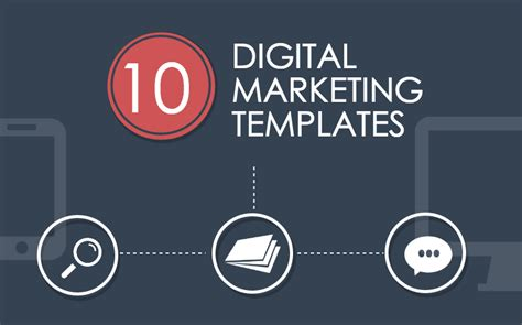 10 Templates That Will Improve Your Digital Marketing Digital Marketing Ppt Template