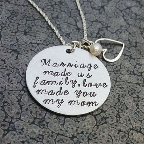 Gift for Mother in Law Handmade Jewelry For Mother In Law