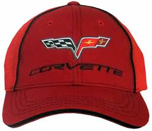 chevy corvette hat c6 embroidered fitted cap