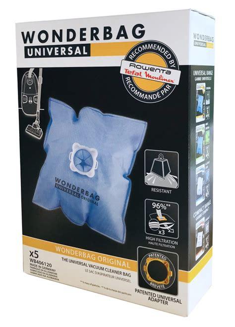 5 sacs aspirateur wonderbag universal original