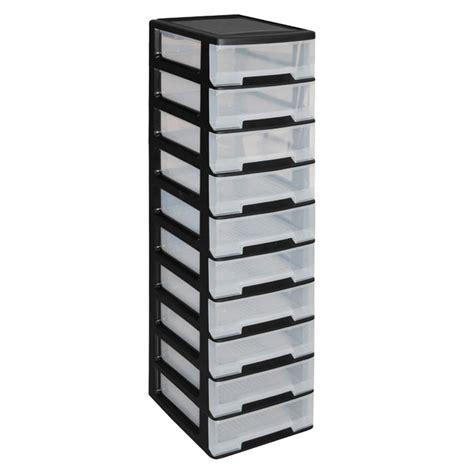 boite de rangement plastique tiroir allibert babel tour de rangement 10 tiroirs achat