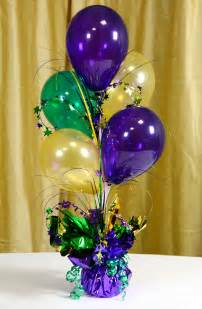 balloon centerpieces for tables ideas by mardi gras outlet air filled balloon