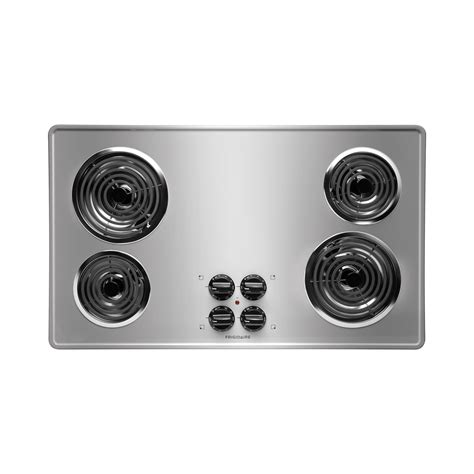 36 inch electric coil cooktop frigidaire ffec3605ls 36 quot electric cooktop with coil elements