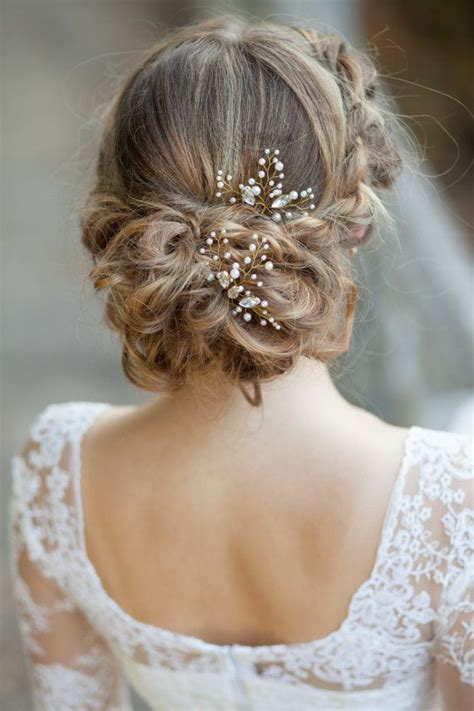 208 best wedding hairstyles images on pinterest bridal 25 best ideas about bridal hair pins on pinterest