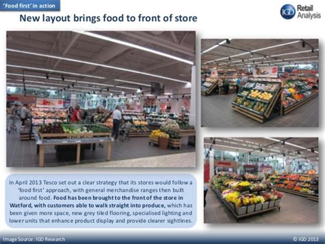 tesco layout strategy tesco extra watford uk igd s guide to tesco s