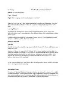 lesson plan template for social studies lesson plan social studies history